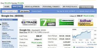 How to Read Yahoo Stocks From Yahoo Finance