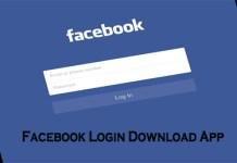 Facebook Login Download App - The Facebook App