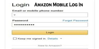 Amazon Mobile Log In - Amazon Account