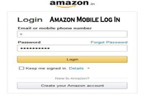 Amazon Mobile Log In - Amazon Account