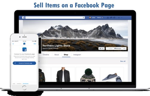 How to Sell Items on a Facebook Page