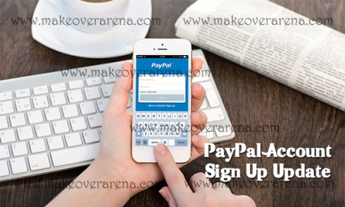 PayPal Account Sign Up Update