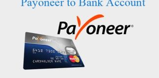 Payoneer to Bank Account