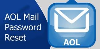 AOL Mail Password Reset
