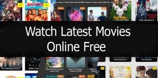 Watch Latest Movies Online Free