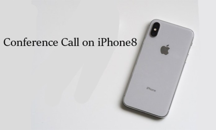 Conference Call on iPhone8