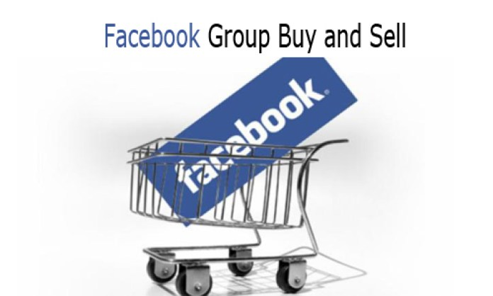 Facebook Group Buy and Sell