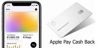Apple Pay Cash Back