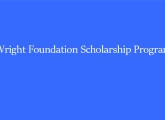 Wright Foundation Scholarship Program
