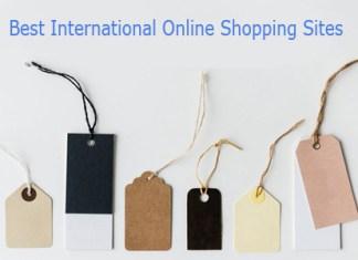 Best International Online Shopping Sites