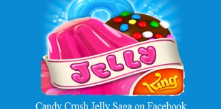 Candy Crush Jelly Saga on Facebook