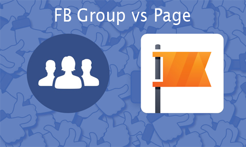 FB Group vs Page