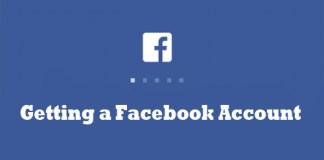 Getting a Facebook Account