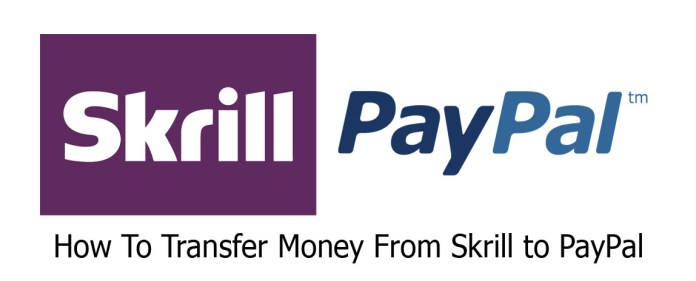 How To Transfer Money From Skrill to PayPal