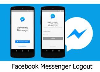 Facebook Messenger Logout