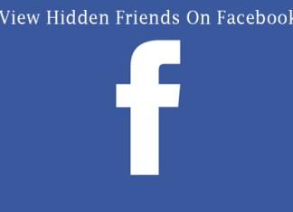 View Hidden Friends On Facebook