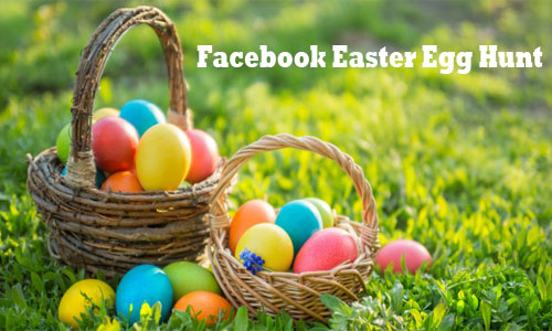 Facebook Easter Egg Hunt