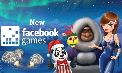 New Facebook Games
