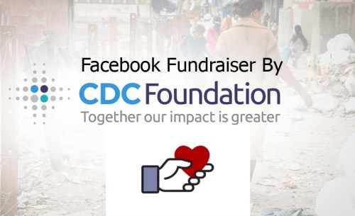 Facebook Fundraiser By CDC Foundation