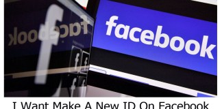 I Want Make A New ID On Facebook
