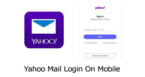 Yahoo Mail Login On Mobile