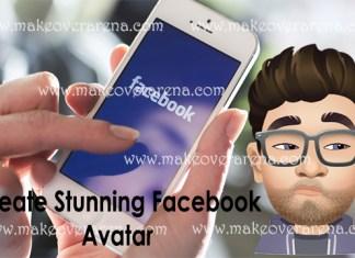 Create Stunning Facebook Avatar