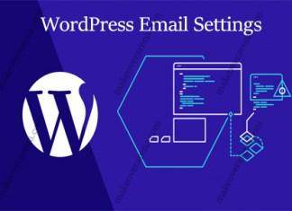 WordPress Email Settings