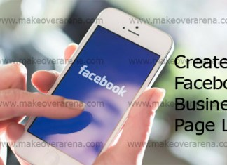 Create Facebook Business Page Link