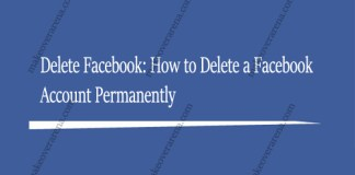 Delete Facebook: How to Delete a Facebook Account Permanently
