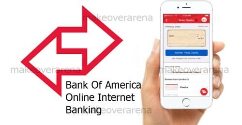 Bank Of America Online Internet Banking