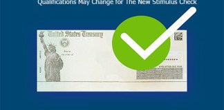 Qualifications May Change for The New Stimulus Check