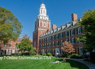 Top 7 Online Universities in USA