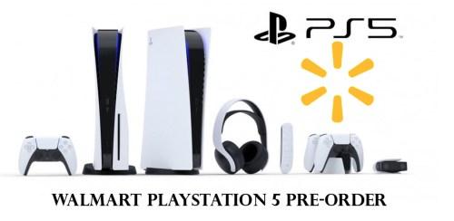 Walmart PlayStation 5 Pre-Order