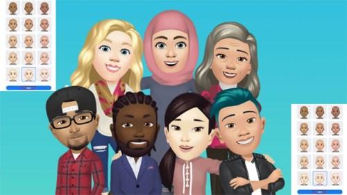 Facebook Launched its Emoji Like Avatars