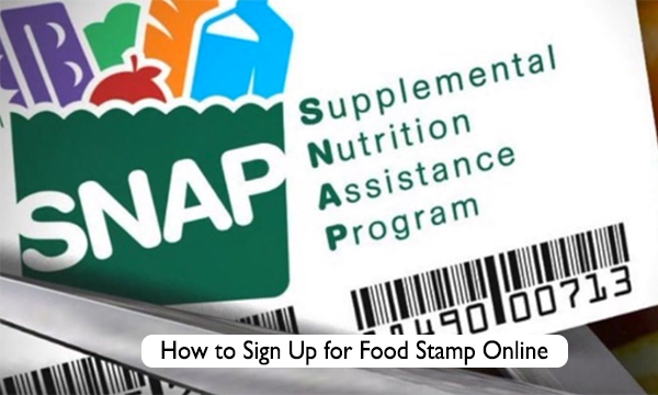 How to Sign Up for Food Stamp Online