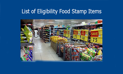 List of Eligibility Food Stamp Items