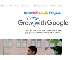Grow with Google Program