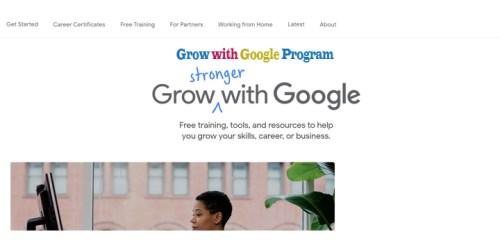 Grow with Google Program