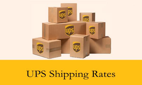 UPS Shipping Rates
