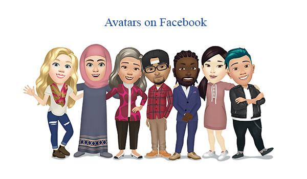 Avatars on Facebook