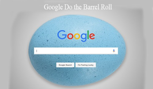 Google Do the Barrel Roll