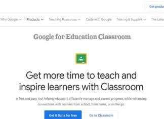 Google for Education Classroom