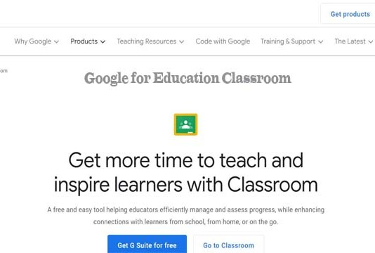 Google for Education Classroom