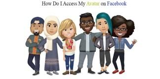 How Do I Access My Avatar on Facebook