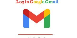 Log in Google Gmail