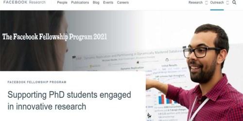 The Facebook Fellowship Program 2021