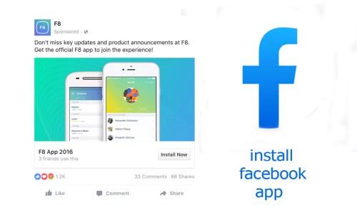install facebook app on my phone