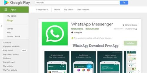 WhatsApp Download Free App