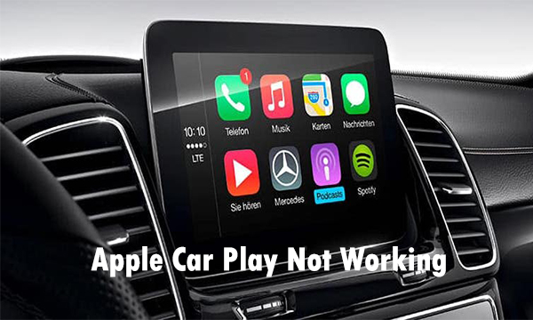 Apple Car Play Not Working