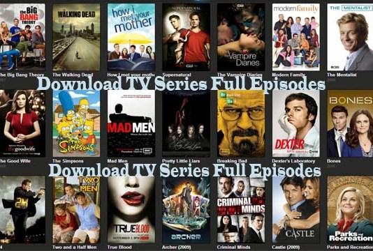 Download TV Series Full Episodes